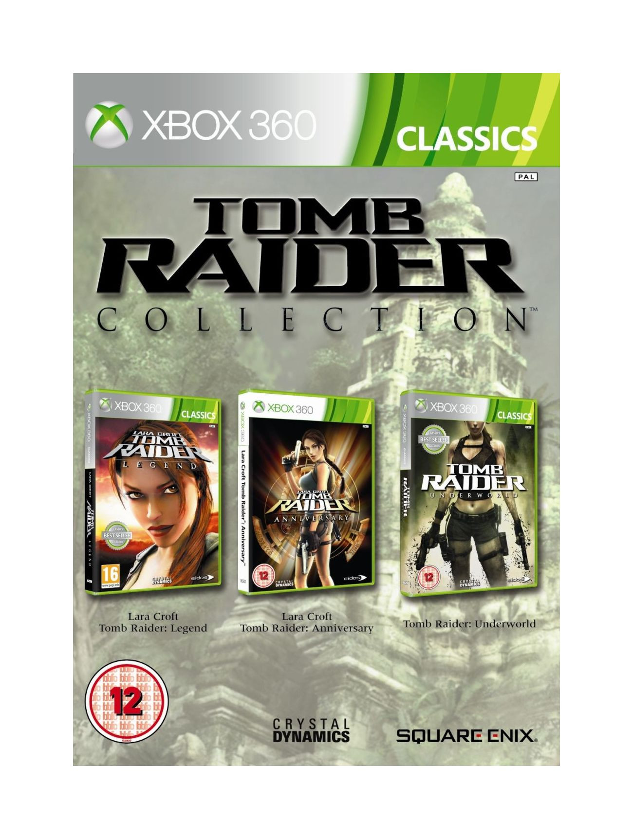 XBOX 360 Tomb Raider Collection (Triple Pack)