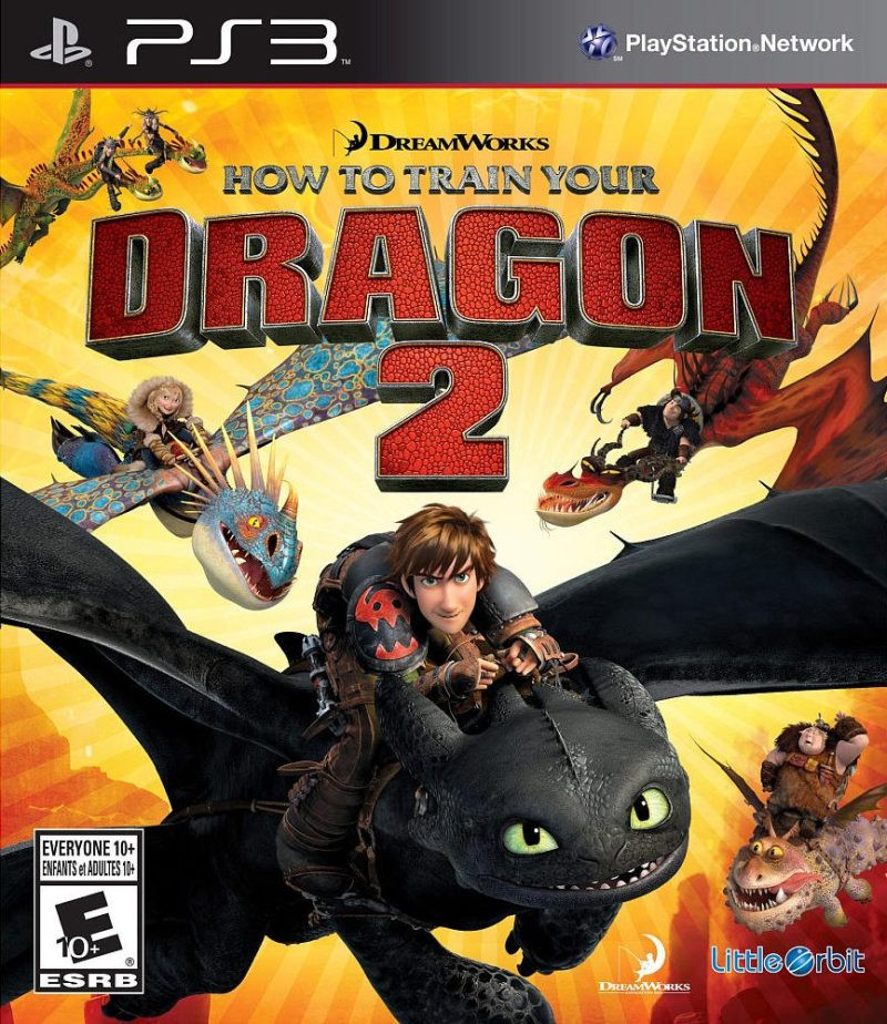 PS3 How to Train Your Dragon 2