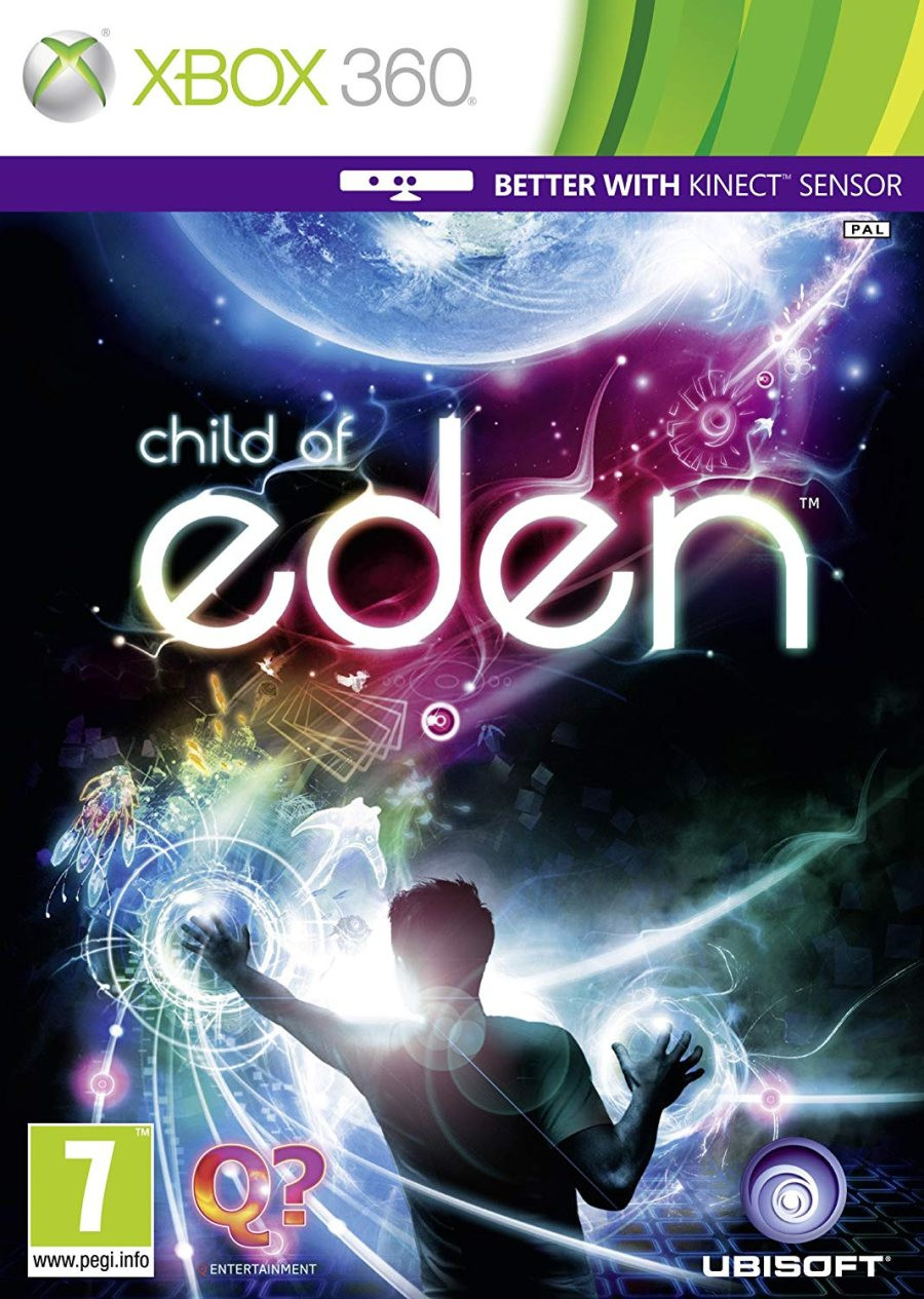 XBOX 360 Child of Eden KINECT