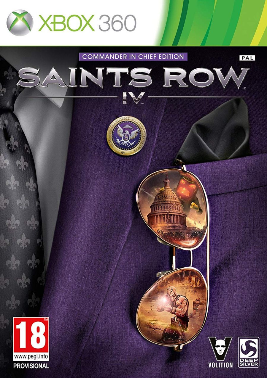 XBOX 360 Saints Row 4 Commander in Chief Edition
