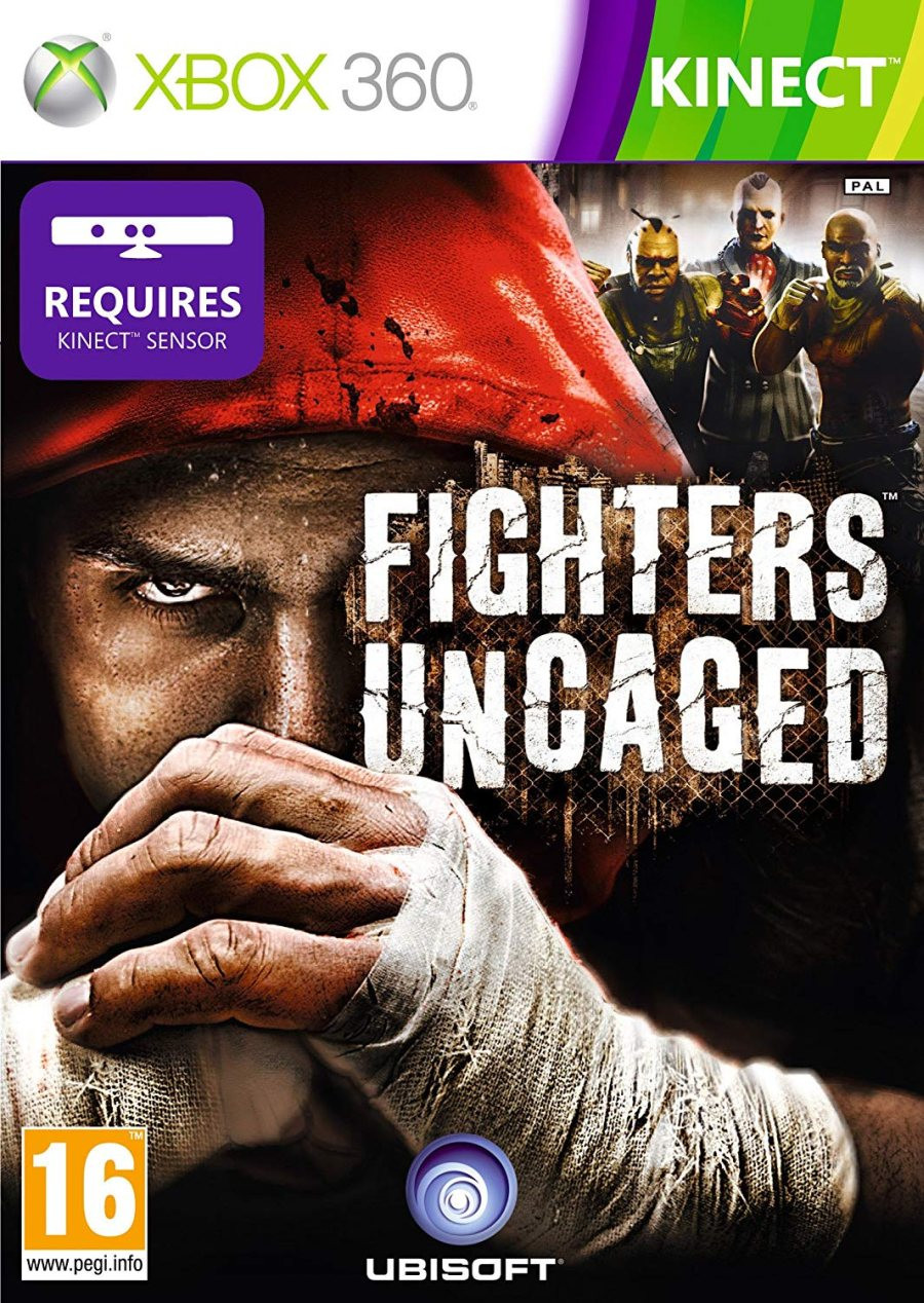XBOX 360 Fighters Uncaged KINECT