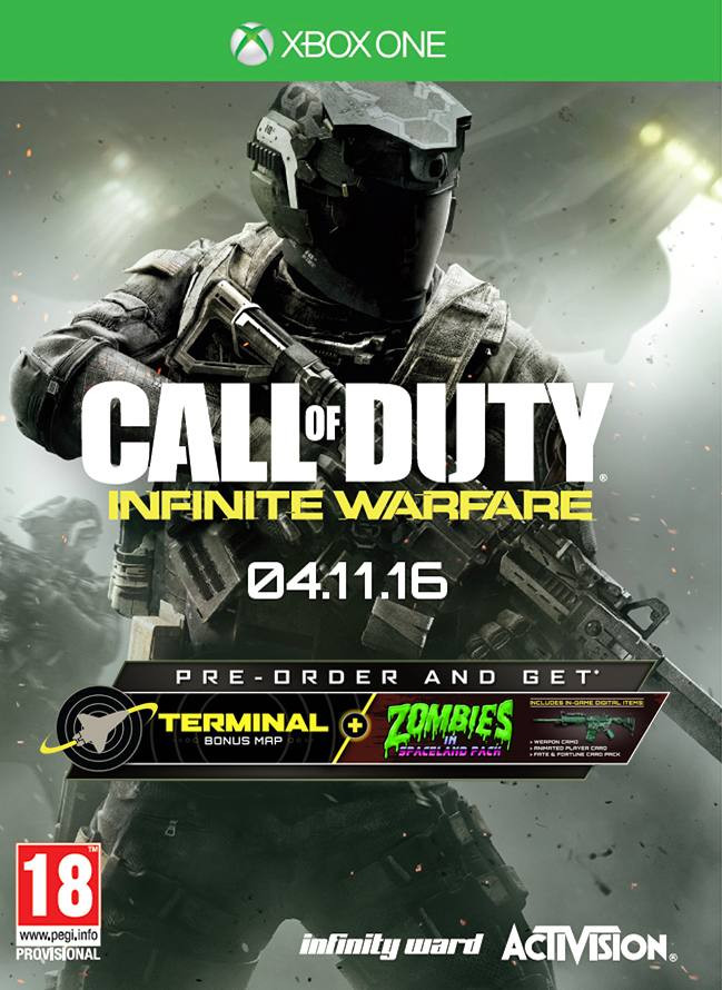 XBOX ONE Call of Duty - Infinite Warfare
