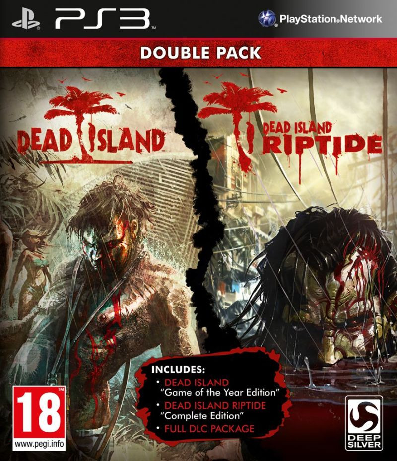 PS3 Dead Island Double Pack (Dead Island GOTY + Dead Island Riptide Complete)