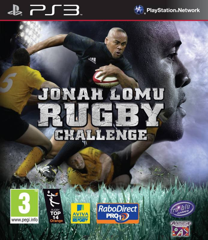 PS3 Jonah Lomu Rugby Challenge