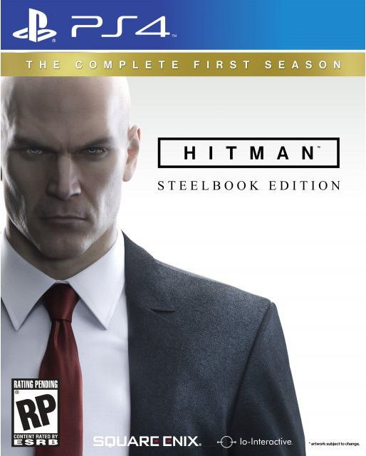 PS4 Hitman - The Complete First Season Steelbook