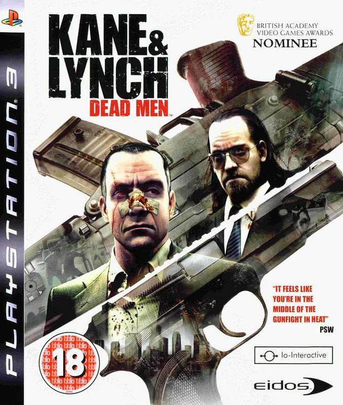 PS3 Kane And Lynch - Dead Men