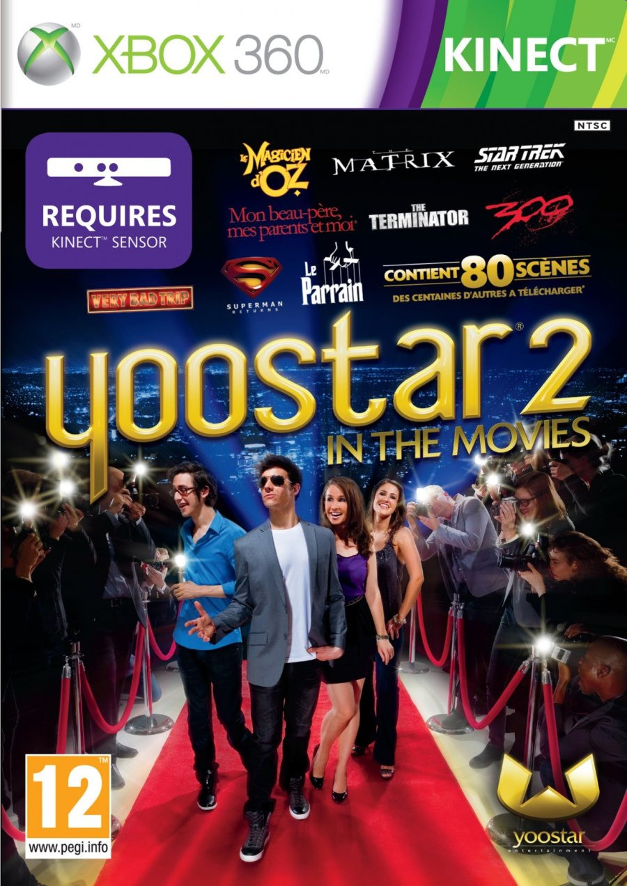XBOX 360 Yoostar 2 In The Movies KINECT