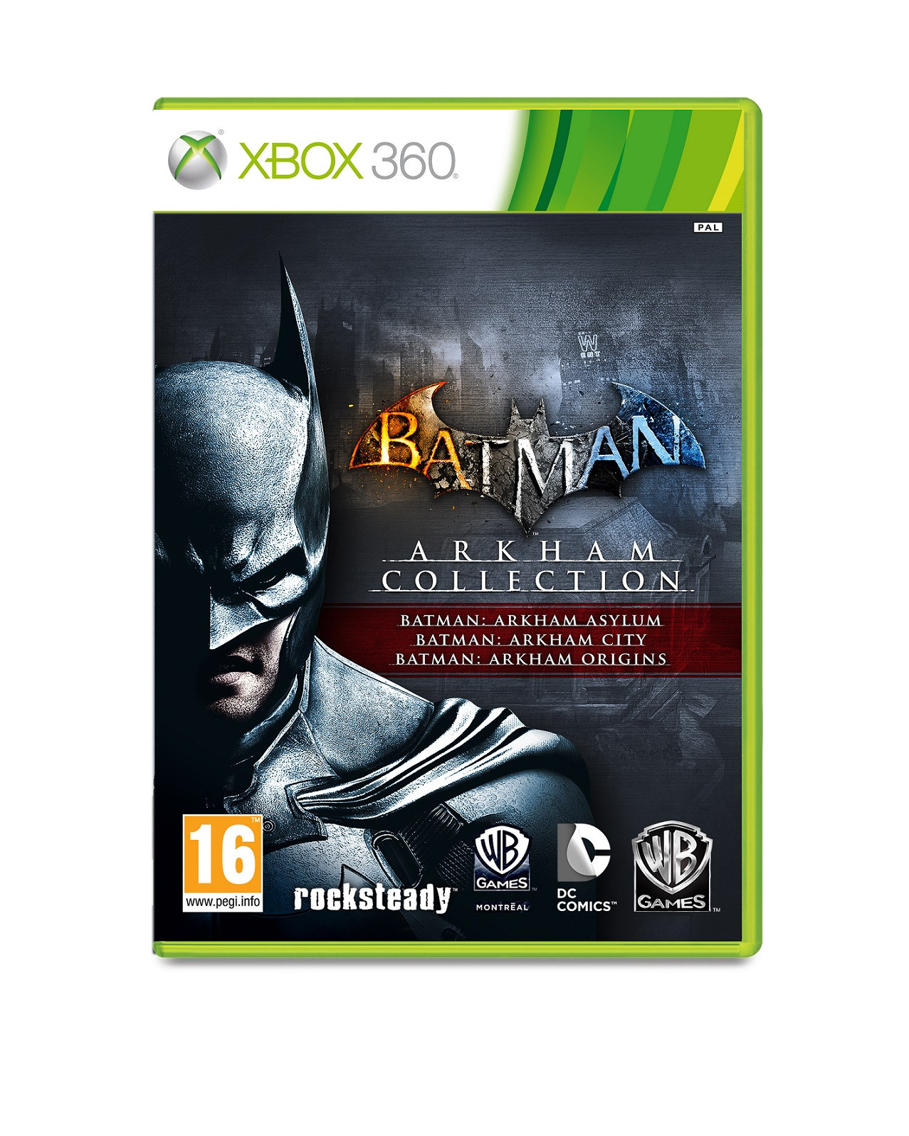 XBOX 360 Batman Arkham Collection (Assylum + City + Origins)
