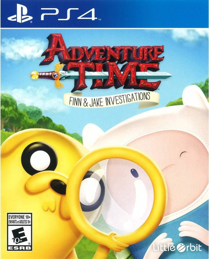 PS4 Adventure Time - Finn & Jake Investigations