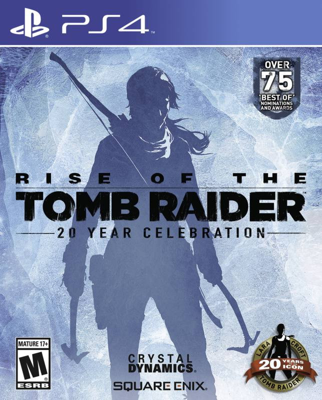 PS4 Rise of the Tomb Raider - 20 Year Cellebration Book