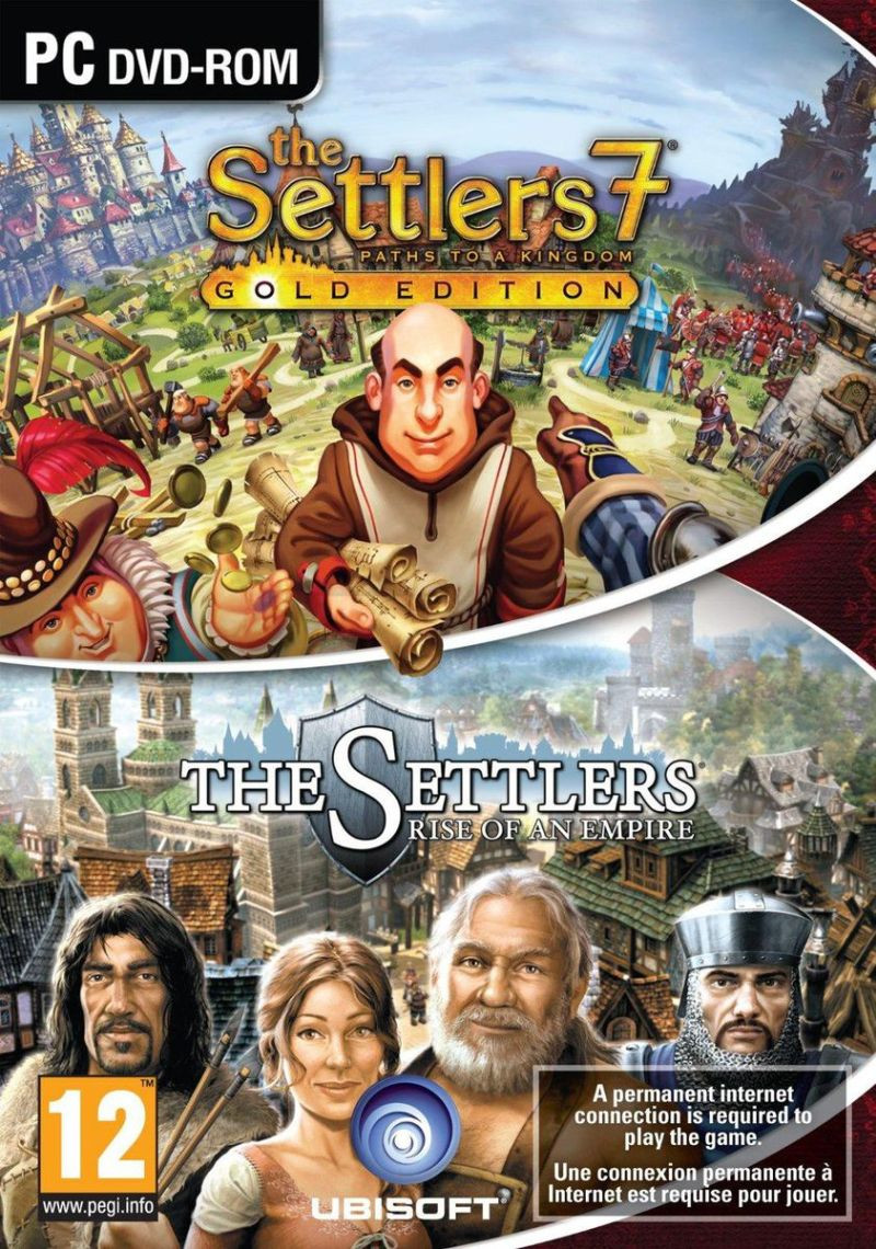 PCG The Settlers Double Pack (Settlers 6 + Settlers 7 Gold)