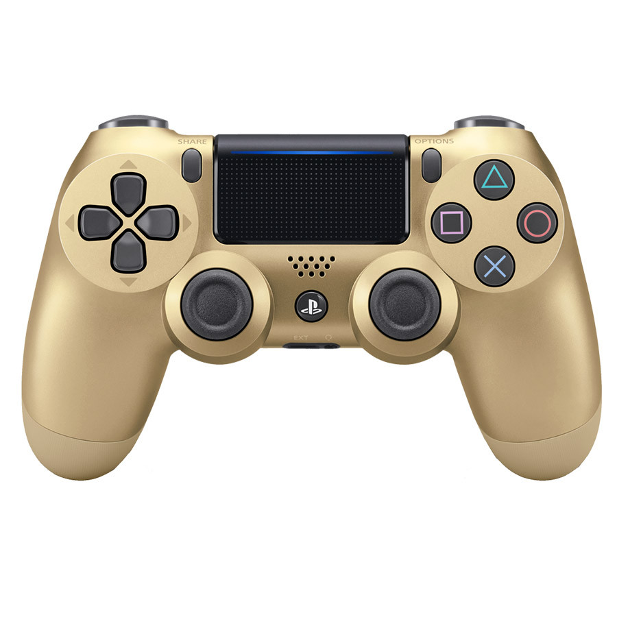 Dualshock 4 Wireless Controller PS4 Gold Gamepad
