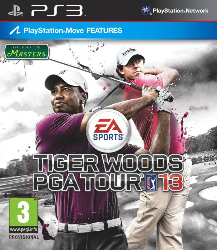 PS3 Masters Tiger Woods PGA Tour 13