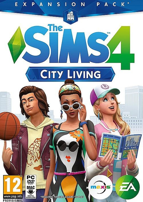 PCG The Sims 4 City Living Expansion