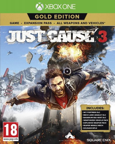 XBOX ONE Just Cause 3 Gold Edition