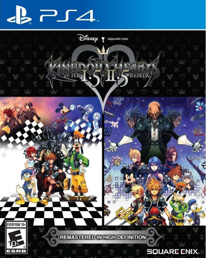 PS4 Kingdom Hearts 1.5/2.5 Compilation