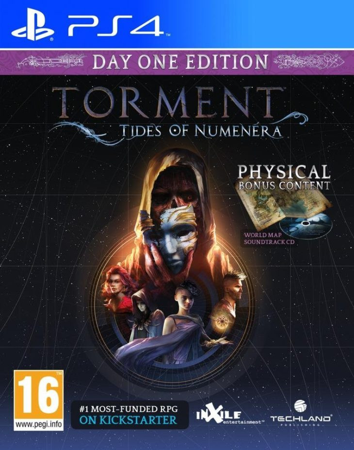 PS4 Torment Tides of Numenera