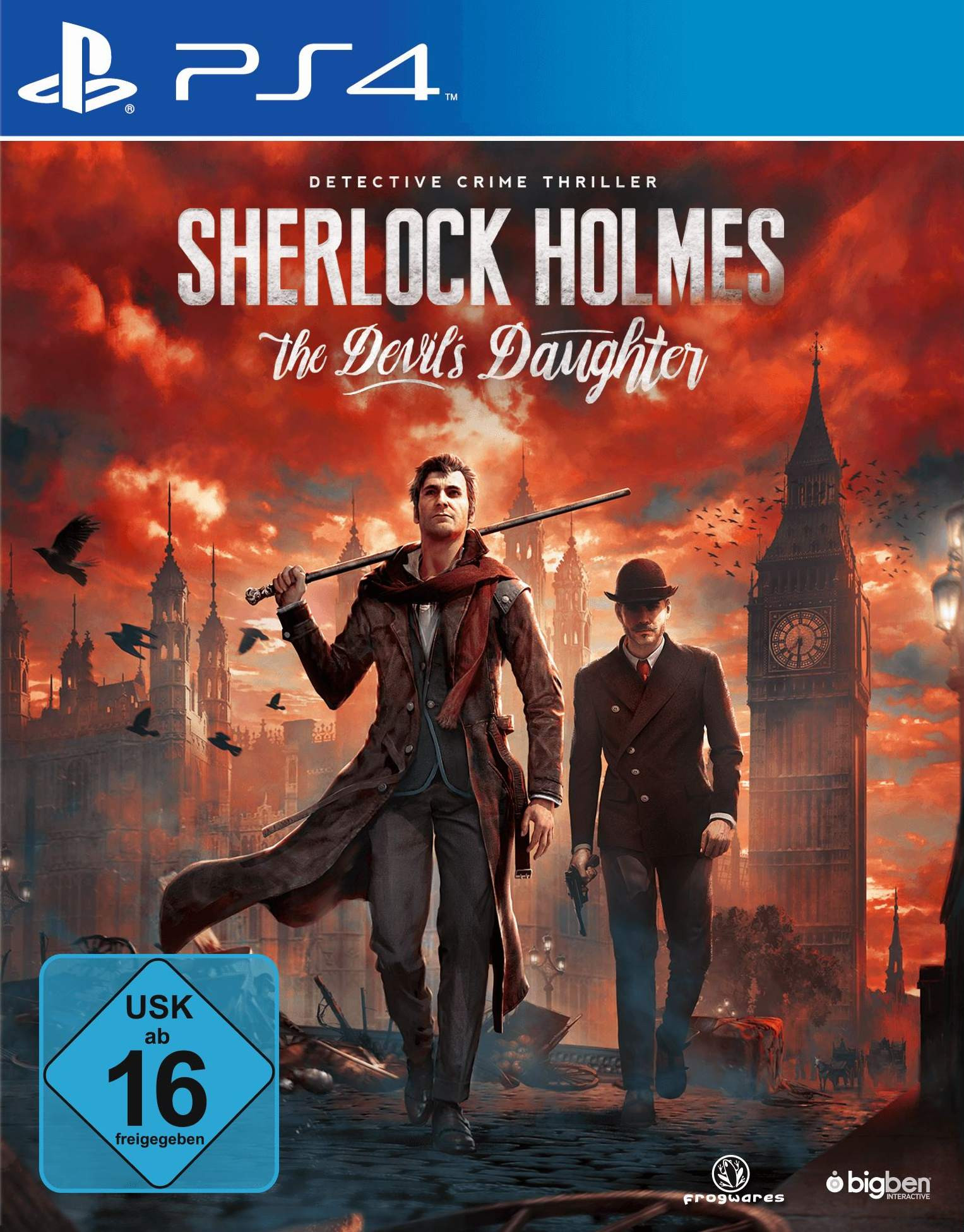 PS4 Sherlock Holmes – The Devils Daughter