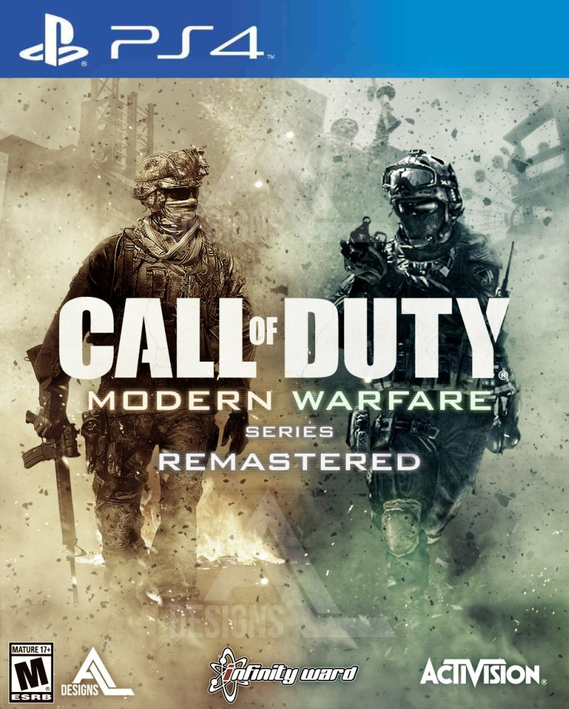 PS4 Call of Duty - Modern Warfare Remastered