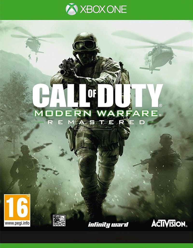 XBOX ONE Call of Duty - Modern Warfare Remastered