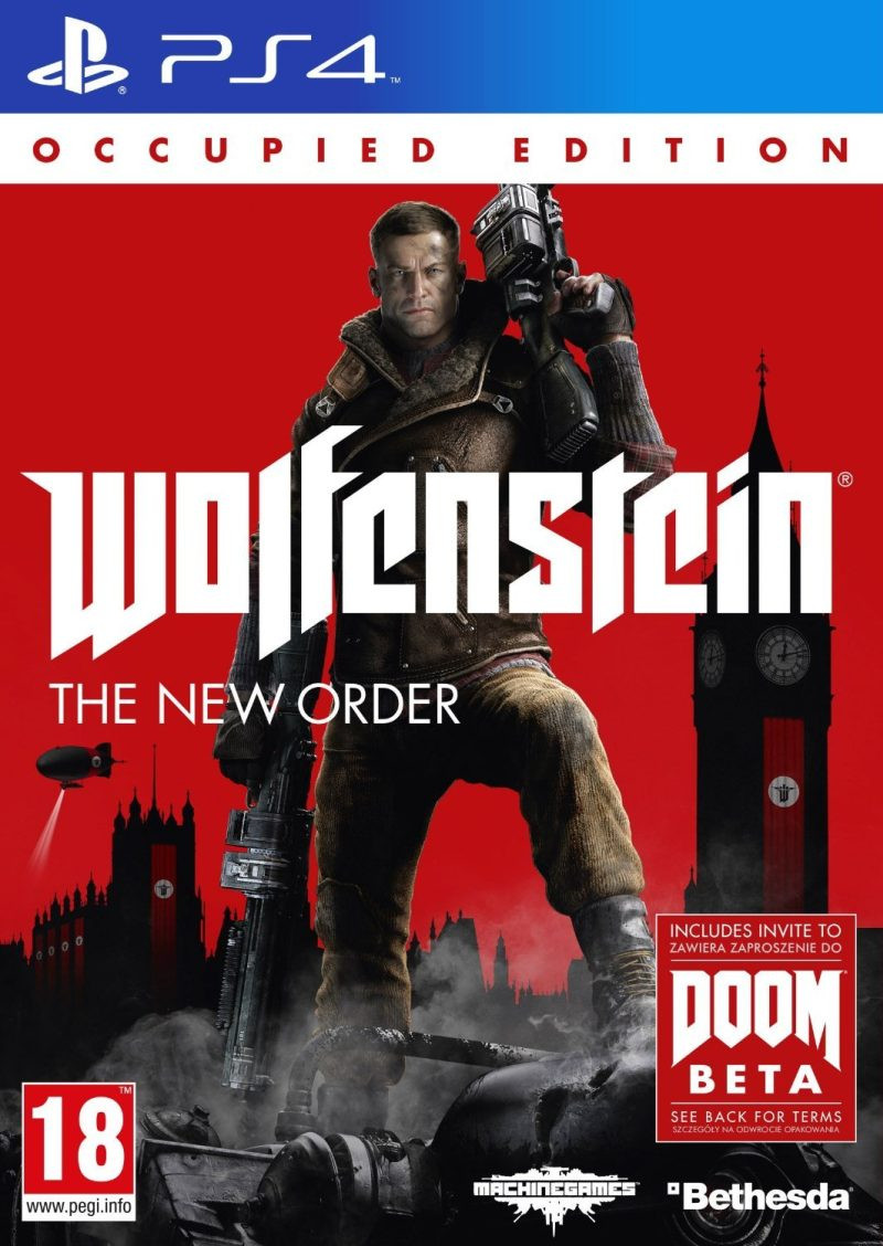 PS4 Wolfenstein The New Order Occupied Edition