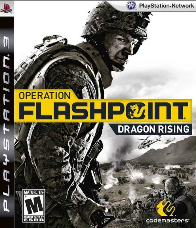 PS3 Operation Flashpoint Dragon Rising
