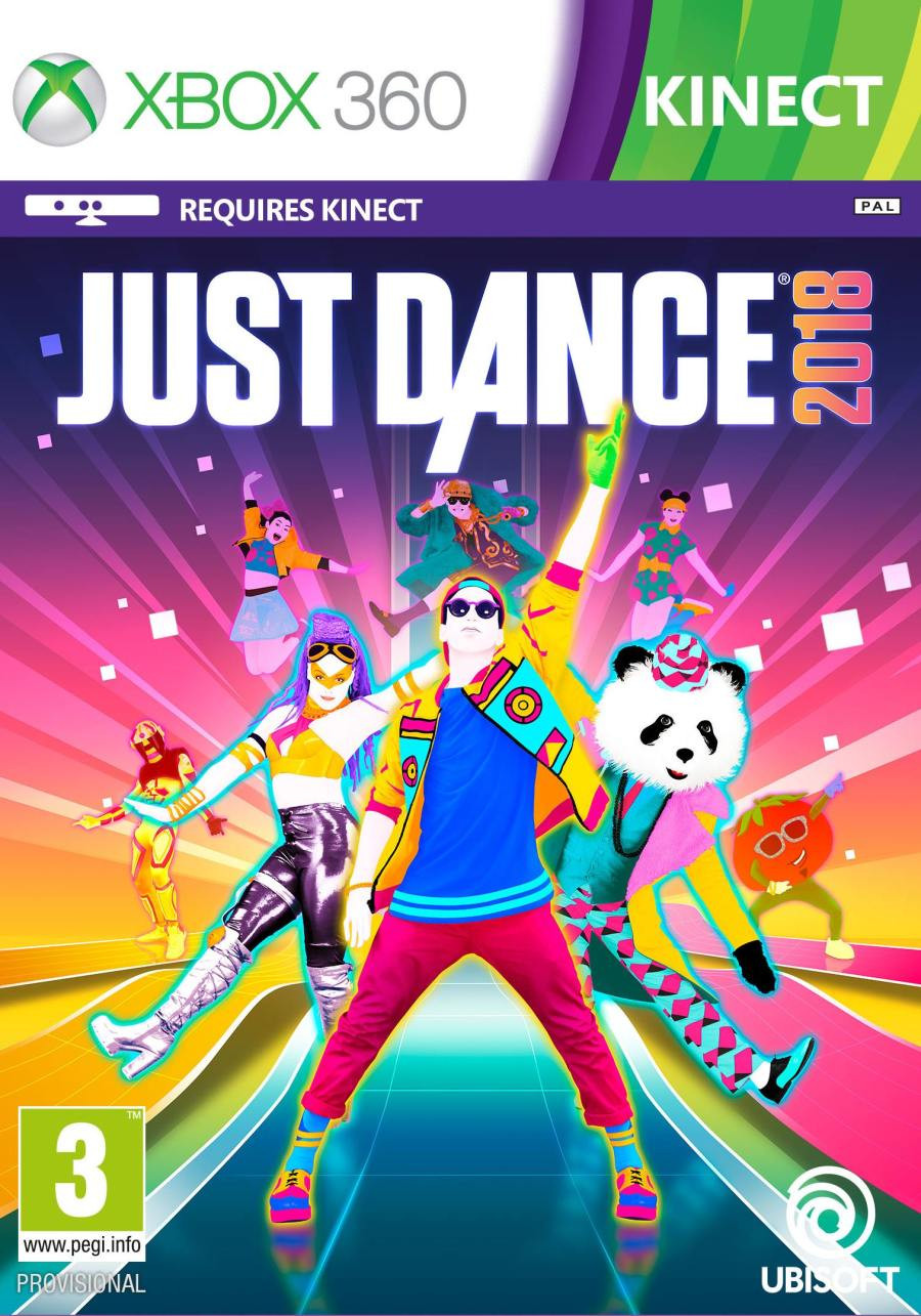 XBOX 360 Just Dance 2018