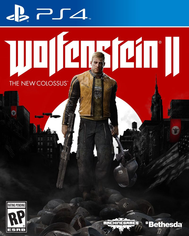PS4 Wolfenstein 2 - The New Colossus