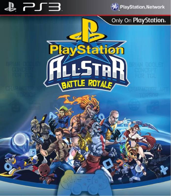 PS3 Playstation All-Stars Battle Royale