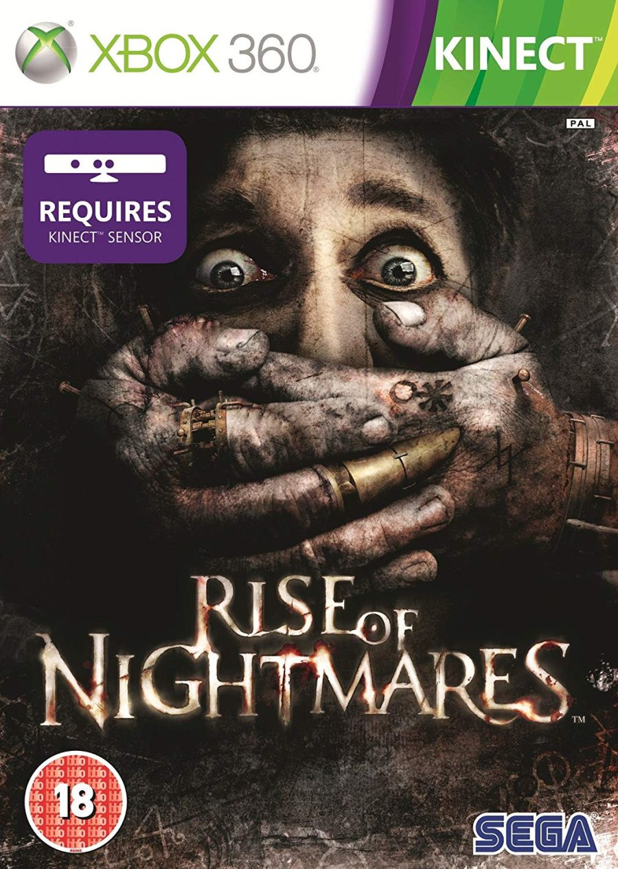 XBOX 360 Rise of Nightmares KINECT