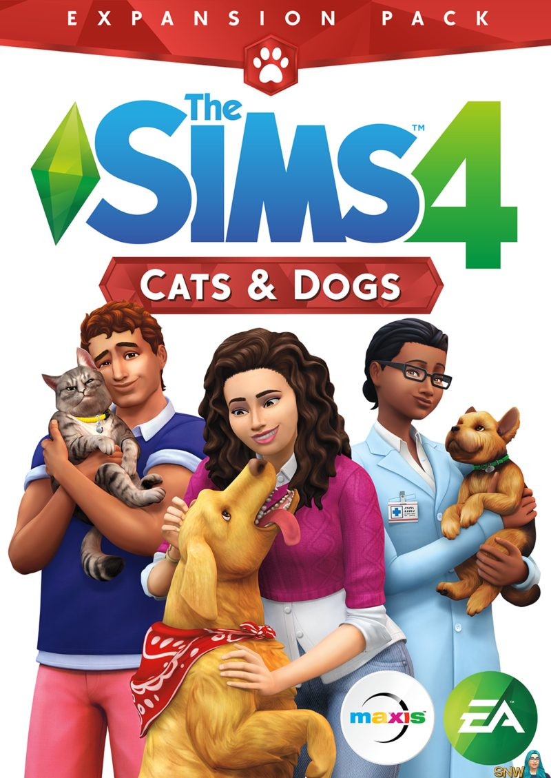PCG The Sims 4 Cats & Dogs Expansion