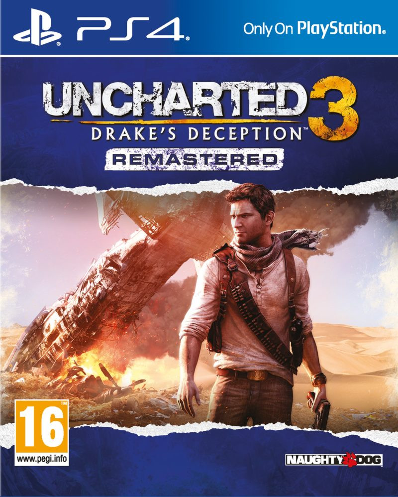 PS4 Uncharted 3 Remastered