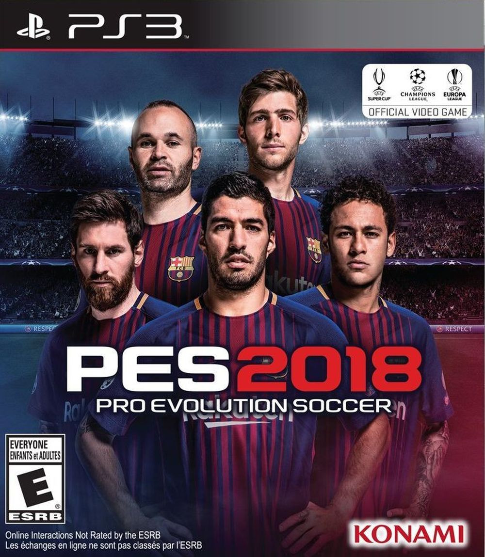 PS3 Pro Evolution Soccer 2018 PES 2018