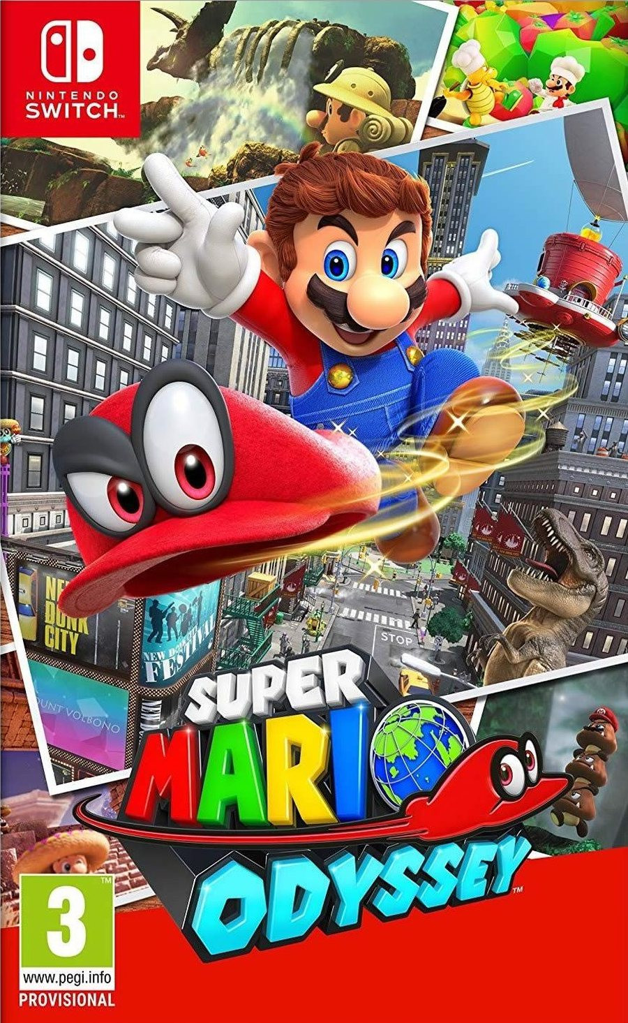 SWITCH Super Mario Odyssey - igrica za Nintendo Switch