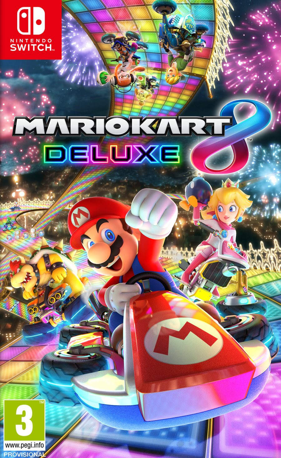 SWITCH Mario Kart 8 Deluxe Edition - igrica za Nintendo Switch