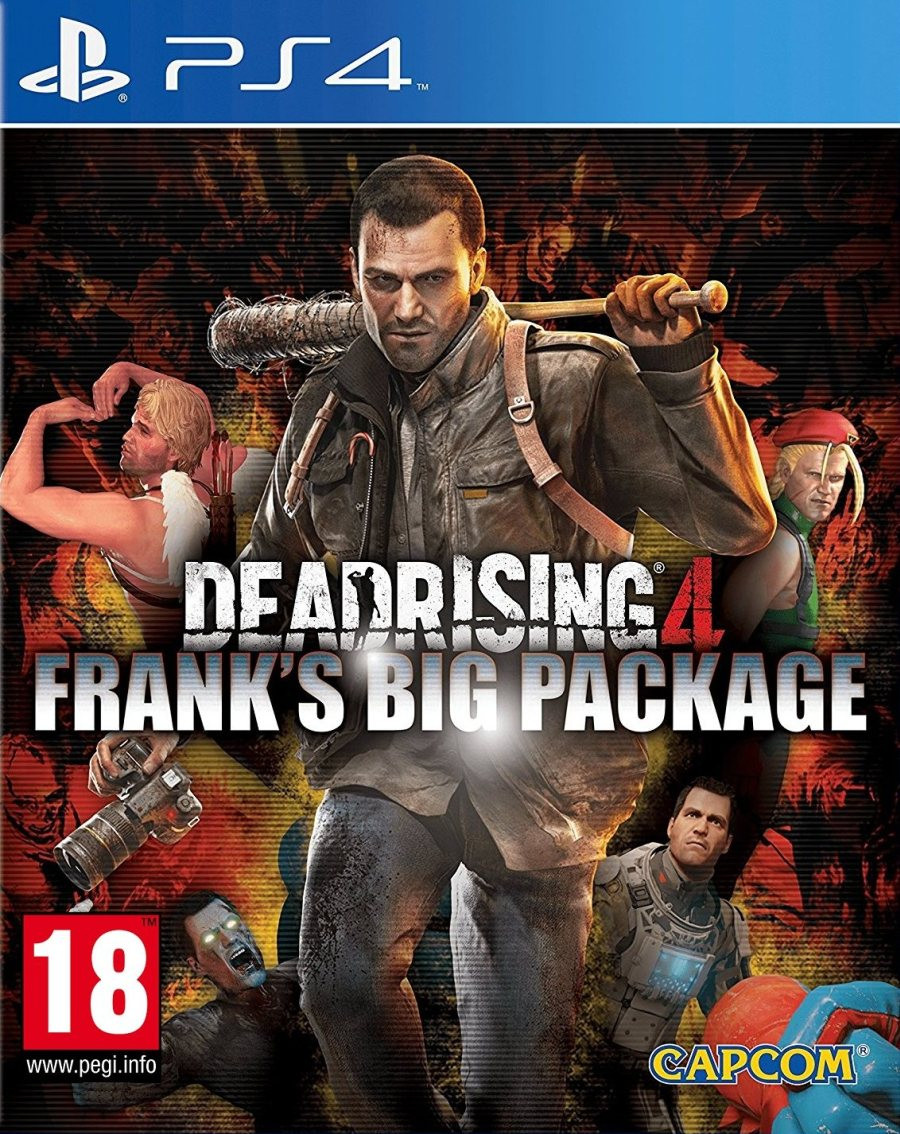 PS4 Dead Rising 4 Franks Big Package