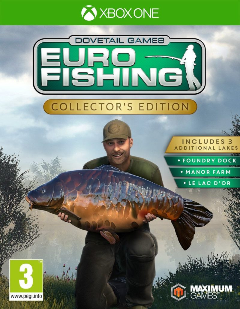 XBOX ONE Euro Fishing Collectors Edition