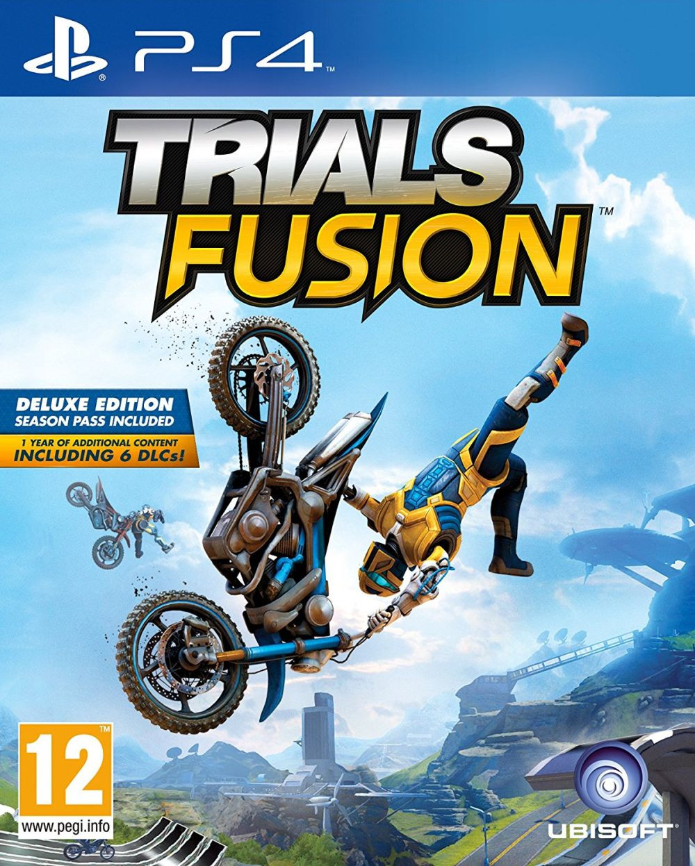 PS4 Trials Fusion Deluxe Edition