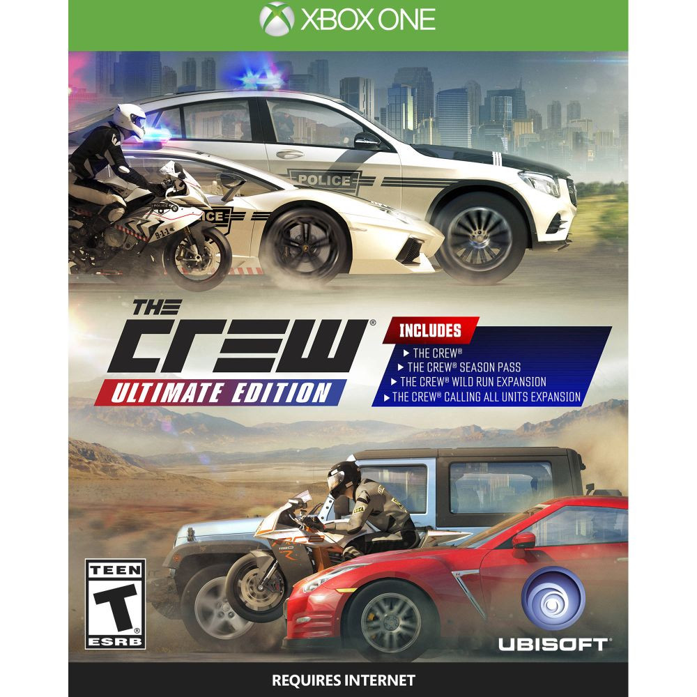 XBOX ONE The Crew Ultimate Edition