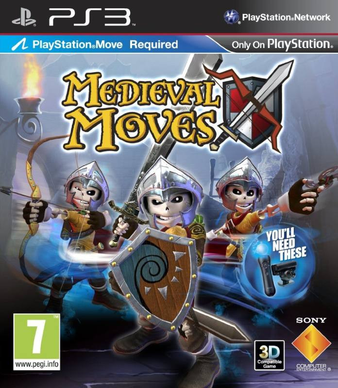 PS3 Medieval Moves MOVE