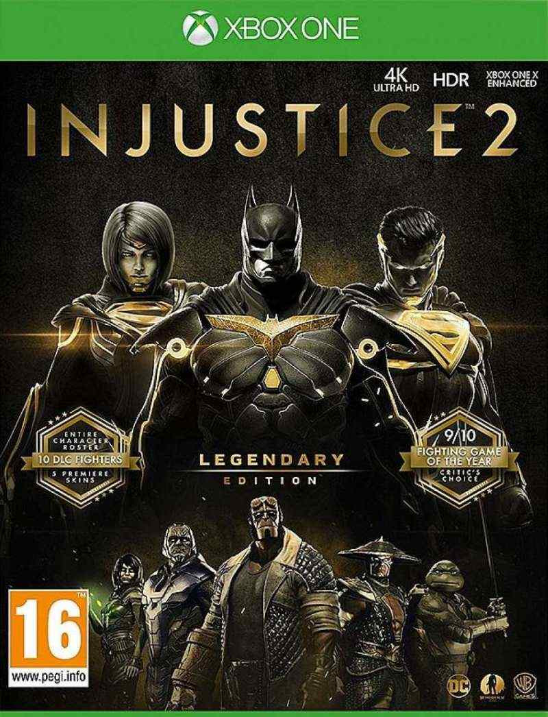 XBOX ONE Injustice 2 Legendary Edition