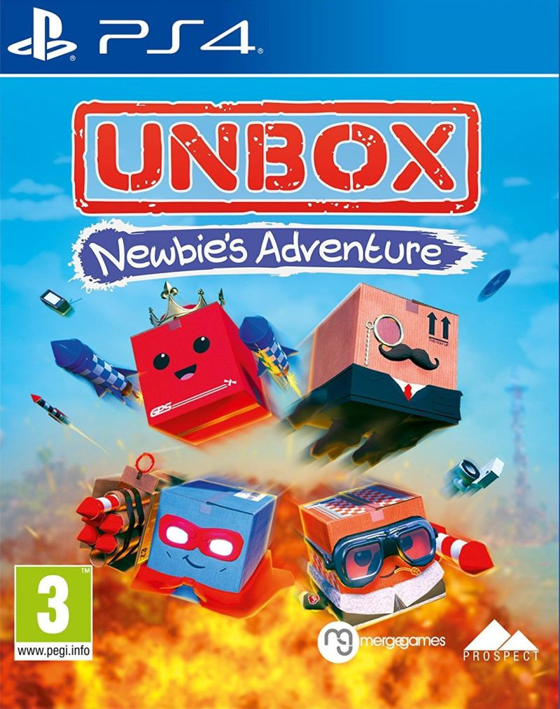 PS4 Unbox Newbies Adventure
