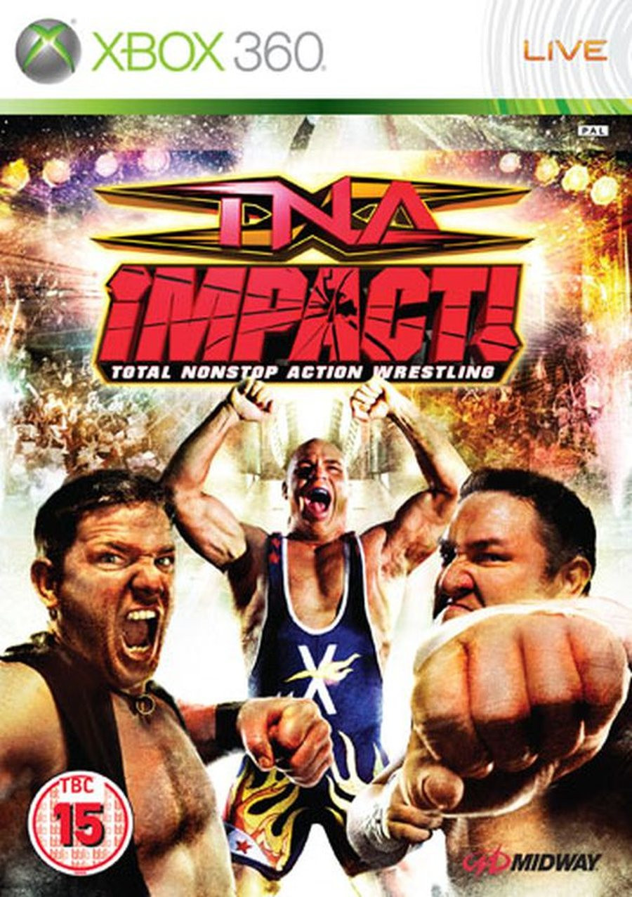 XBOX 360 TNA Impact Total Nonstop Action Wrestling