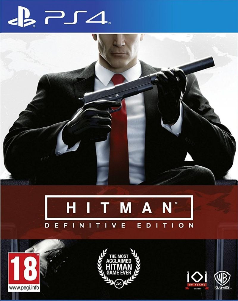 PS4 Hitman Definitive Edition