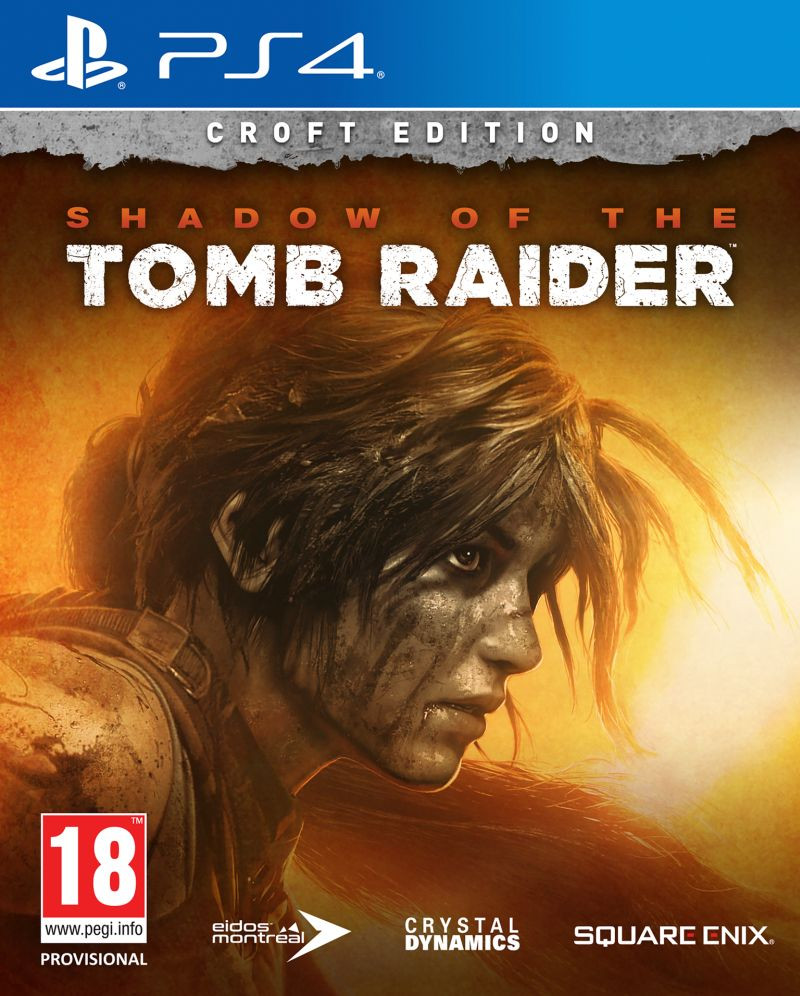 PS4 Shadow of the Tomb Raider - Croft Edition