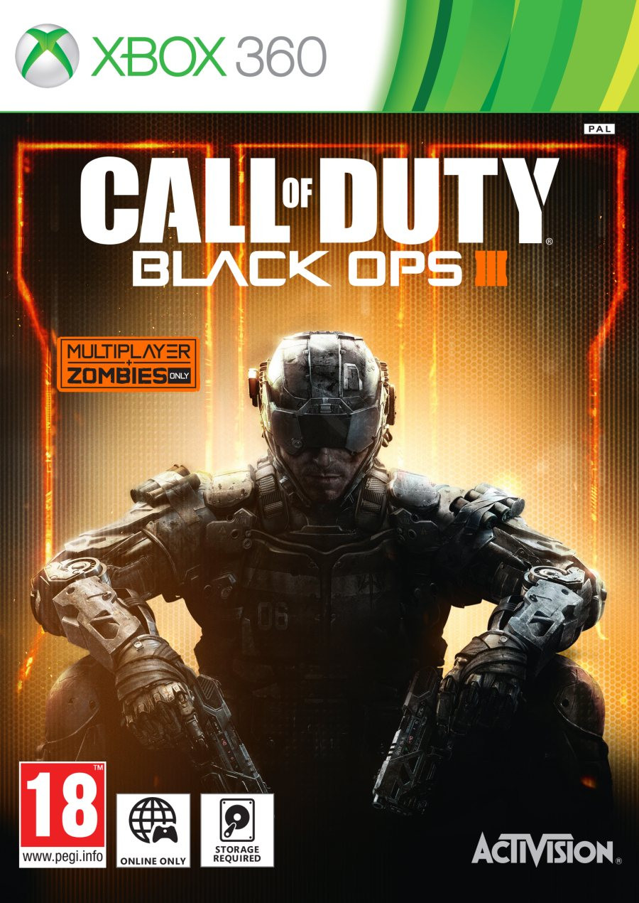 XBOX 360 Call of Duty - Black Ops 3