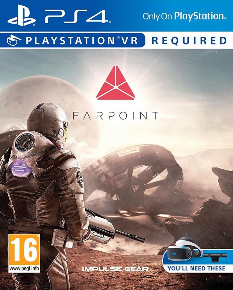 PS4 Farpoint VR