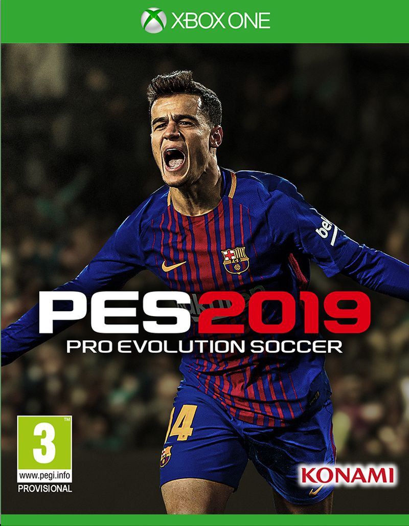 XBOX ONE Pro Evolution Soccer 2019 PES 2019