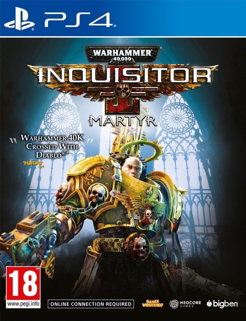 PS4 Warhammer 40.000 Inquisitor - Martyr