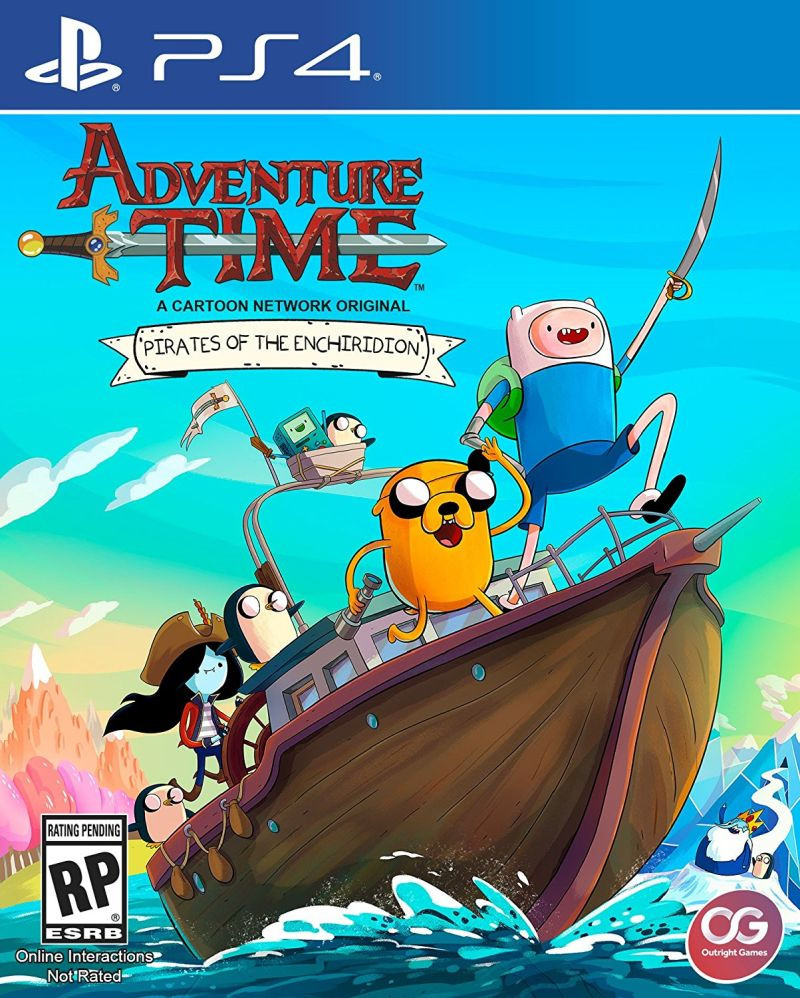 PS4 Adventure Time - Pirates of the Enchiridion